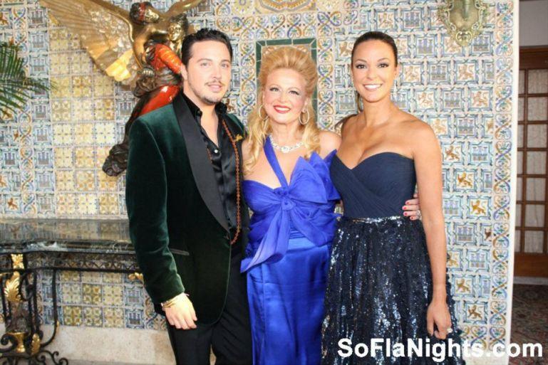 Max Tucci, Juliette Ezagui, and Eva La Rue