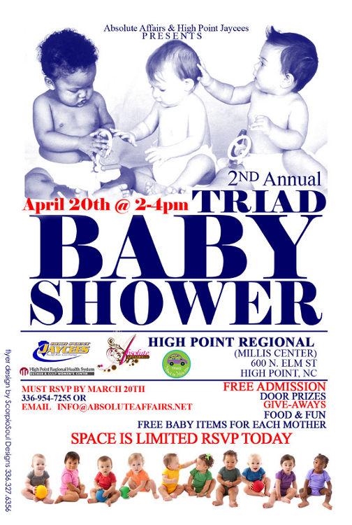 Triad Baby Shower will provide free baby items to expectant mothers in need.