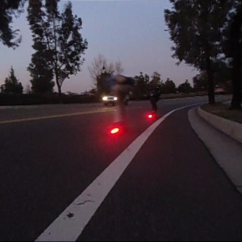 BOARDLIGHT longboard skateboard lights
