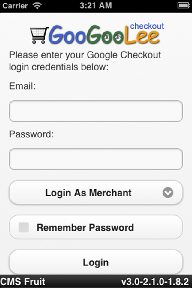 Google Checkout Account