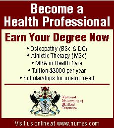 National University of Medical Sciences (NUMSS) ad