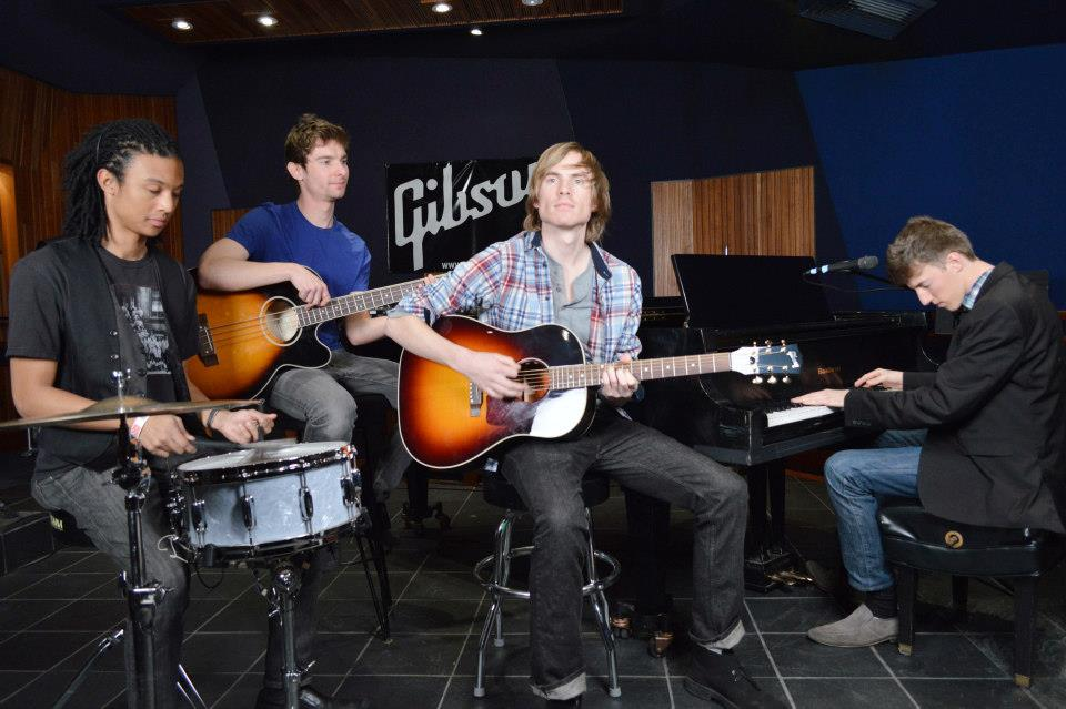 The Thirstbusters at Gibson Guitar Studios