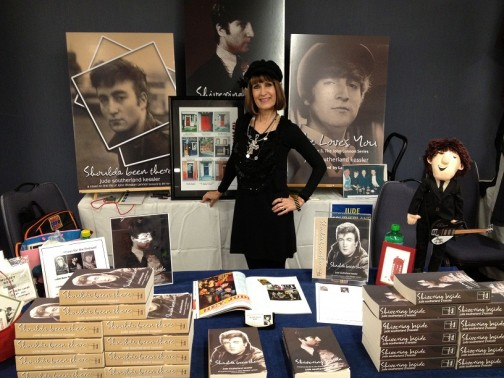 Author Jude Southerland Kessler at Chicago Fest for Beatles Fans 2012