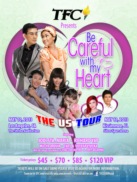 Catch Sir Chief, Maya & the gang w/ Yeng & Jovit this May in the U.S.!
