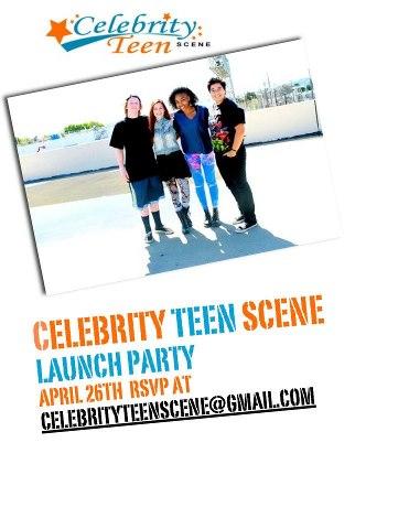 Celebrity Teen Scene