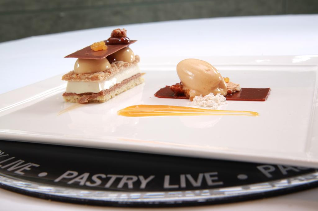 2012's Signature Plated Dessert competition winner - Chef James Satterwhite