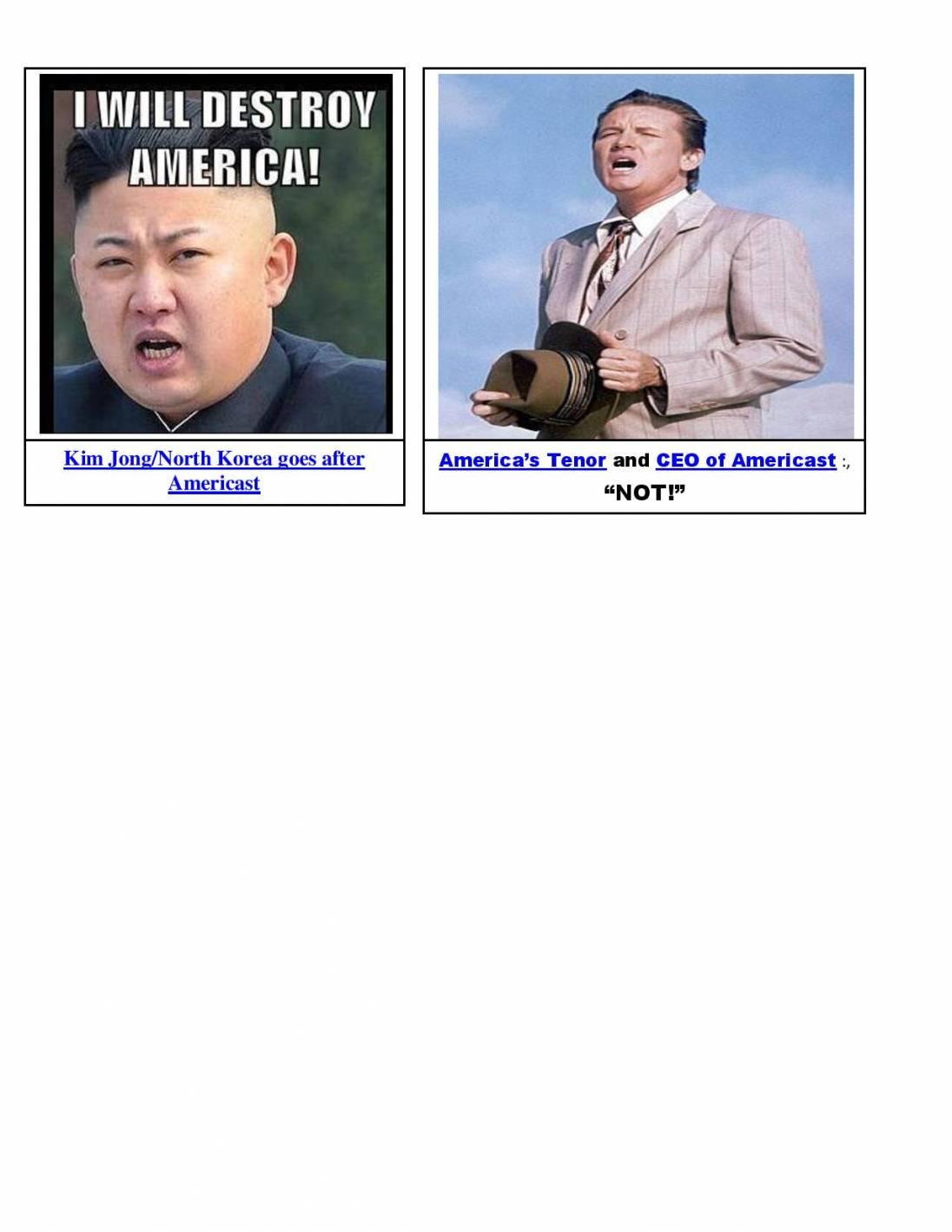 kim vs. america