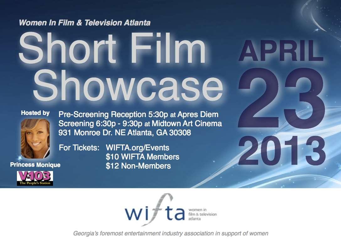 WIFTA 2013 Short Film Showcase Flyer
