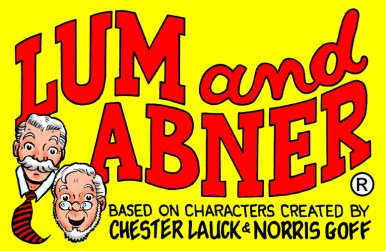 New weekly Lum & Abner every Saturday 2:30 pm ET, 11:30 am PT cultradioagogo.com