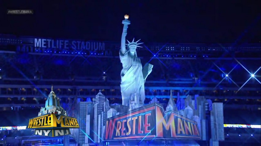 WrestleMania's Statue of Liberty by PrimeTime Amusements