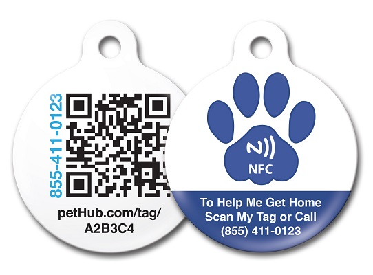 New NFC Cat and Dog Tags (21st Century Pet Tags)