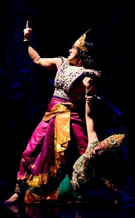 Sita Haran (the abduction of Sita)