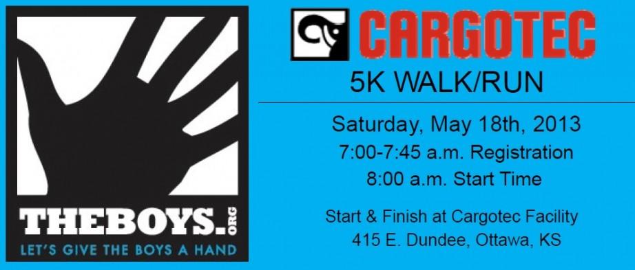 Ottawa, KS  Walk-Run May18 in Ottawa, KS