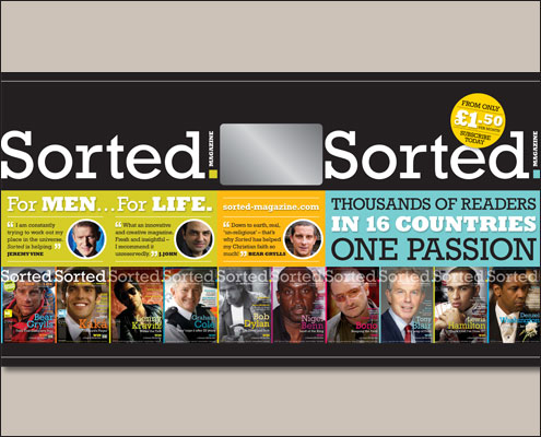 SORTED magazine has gone from strength to strength.