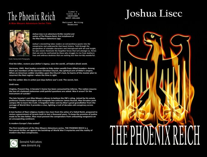 """THE PHOENIX REICH"" new cover design by the Mule!"
