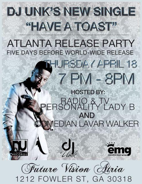 Release Party Invitation