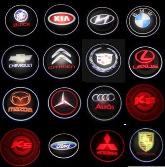 Led Auto 3d Logo Laser Lights For Different Brands Custom