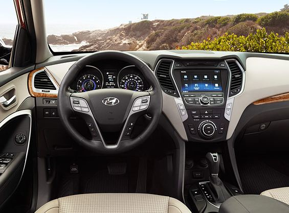 2013 Hyundai Santa Fe Sport Named Among 10 Best Interiors
