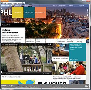 German version of discoverPHL website