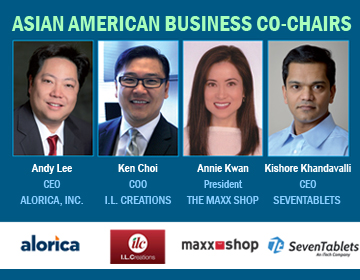 CelebrAsian 2013 Asian American Business Co-Chairs