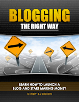 Blogging the Right Way Cover