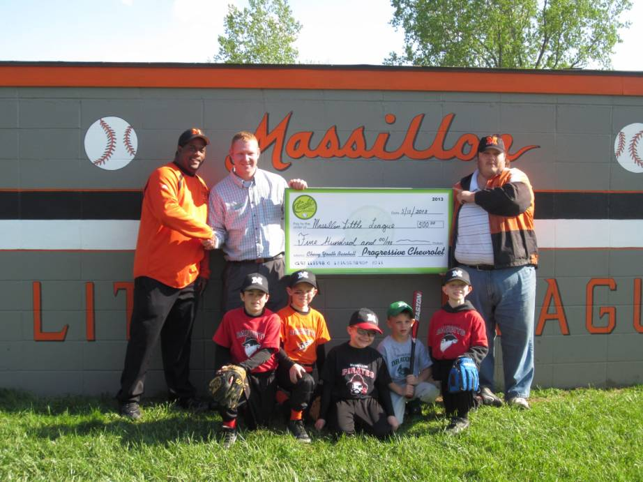 Marvelous Progressive Chevrolet And Massillon Little League Pictured: Lou , Rob,  Dennis