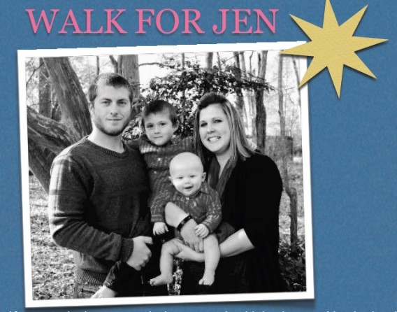 A Walk for Jen will be held to raise funds for stoke victim Jennifer Barnett.