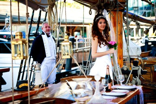 Weddings on Pickle Gibraltar Ocean Village Marina