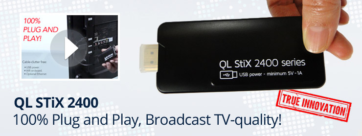 QL STix 2400 - DIGITAL SIGNAGE MEDIA PLAYER