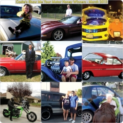 "March Winners  - Casite ""Show Me Your Motor Honey"" Facebook Promotion"