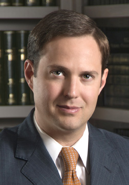 Corporate defense attorney Dustin R. Burrows