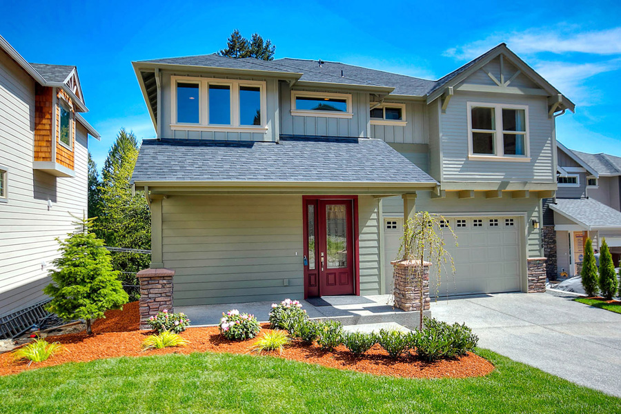 New homes in issaquah community selling quickly inventory for Modern model homes