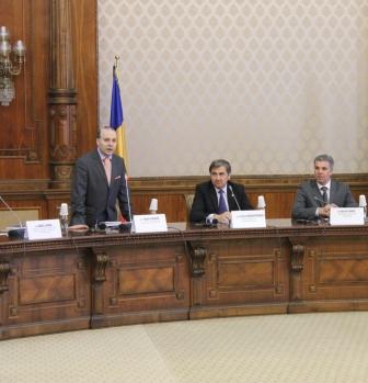 Professor dr.Anton Caragea presiding over European Council on Tourism and Trade