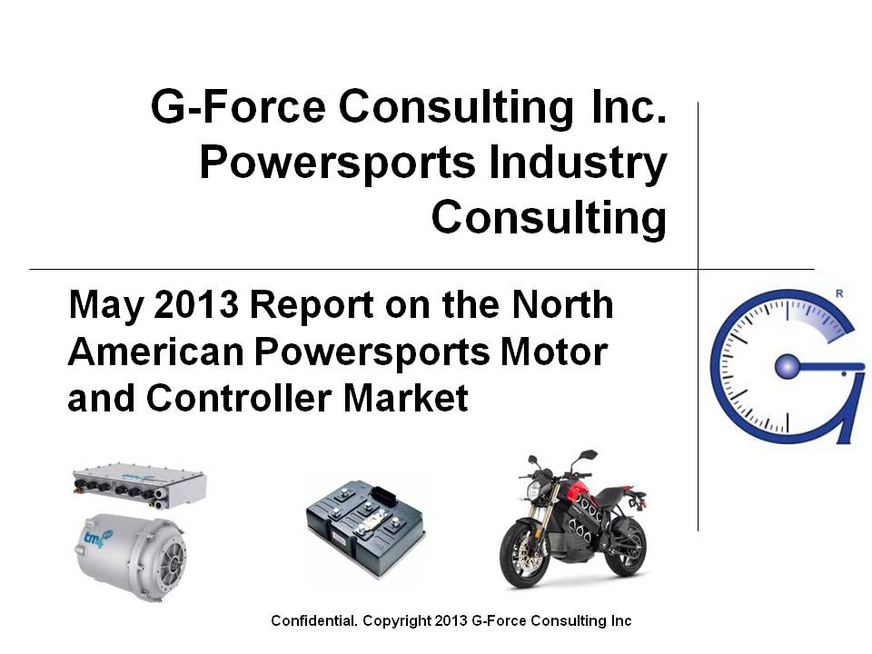 G-Force Consulting Report on N American Powersports Traction Motors