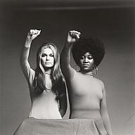 Dorothy Pitman Hughes and Gloria Steinem