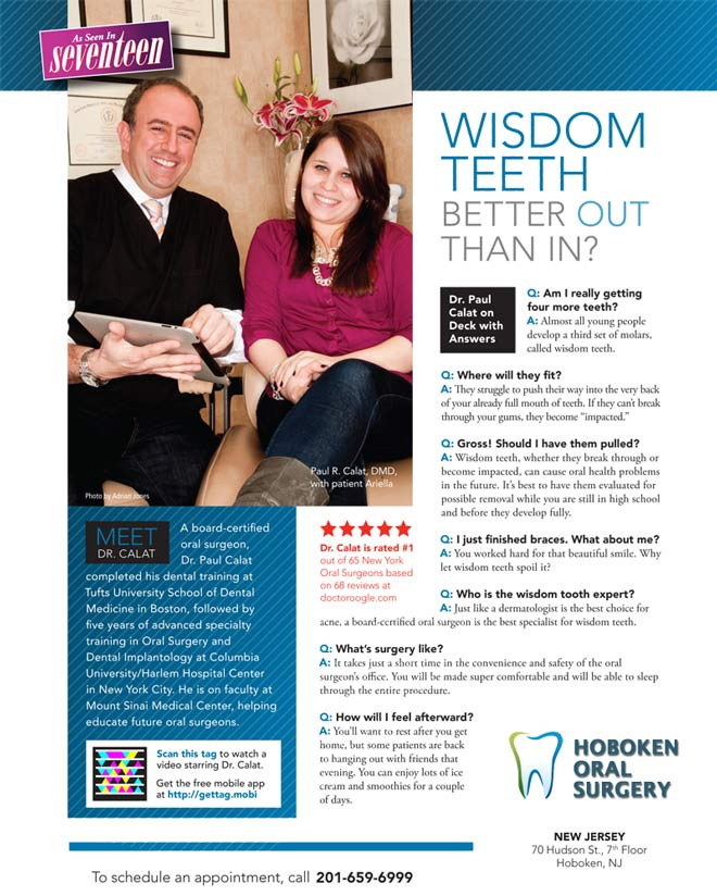 Wisdom teeth better OUT than IN -- Hoboken Oral Surgery   PRLog