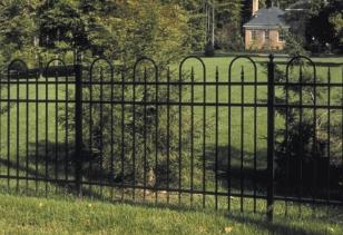 Residential-ornamental-fence