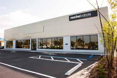Roche Bobois North Palm Beach showroom exterior