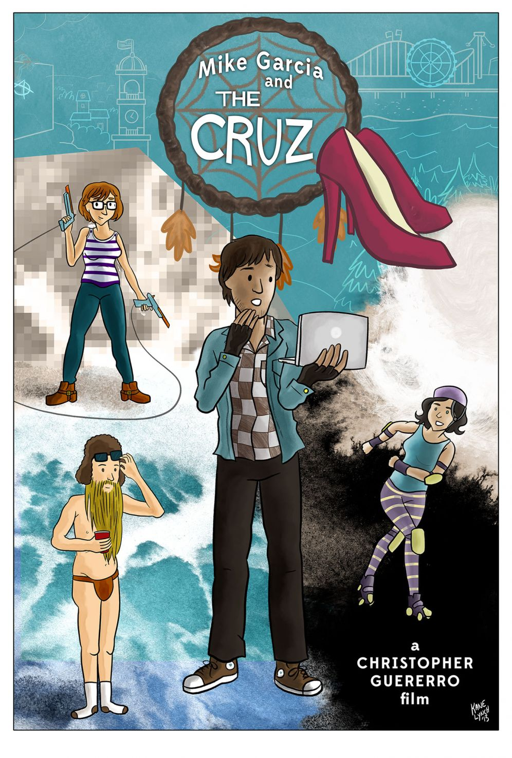 """Poster for """"Mike Garcia and The Cruz"""""""