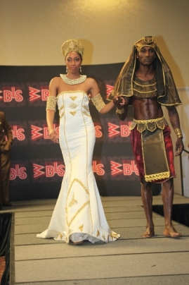 Wedding Dresses Representing Ancient Queens Featured At