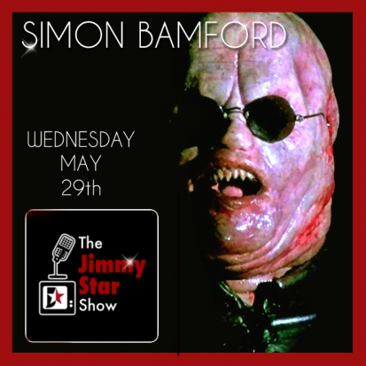 Simon Bamford to guest on the Jimmy Star Show Wednesday May 29th, 2013