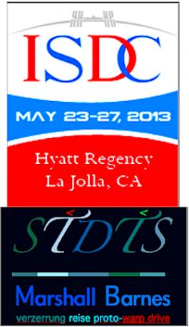 Logos for 2013 ISDC and Marshall Barnes STDTS(TM)