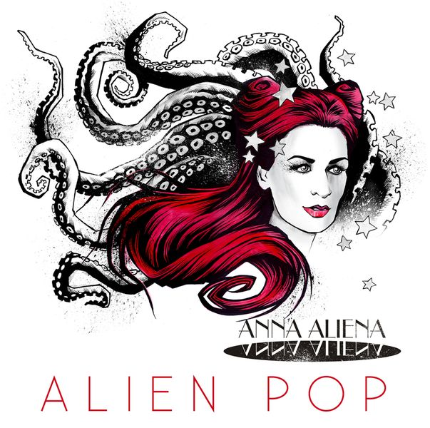 "Cover ""Alien Pop"", Design by Tim Brackmann"