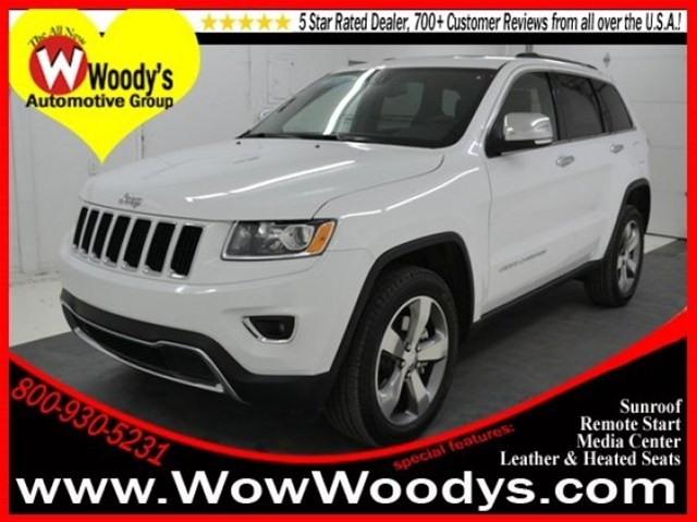 brand new 2014 jeep grand cherokee for sale at woody 39 s automotive group kansas city woody 39 s. Black Bedroom Furniture Sets. Home Design Ideas