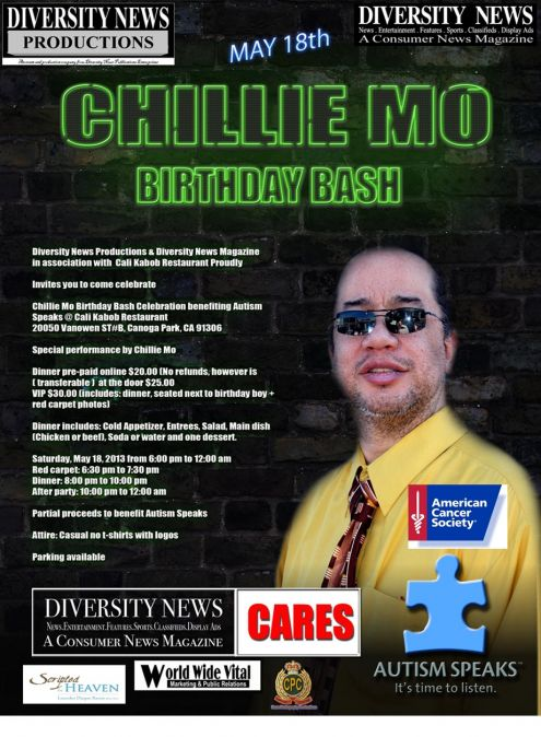 Chillie Mo Birthday Bash May 18, 2013 at CALI Kabo