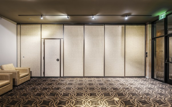 Hufcor Acoustical Harmony used at Proximity Hotel in Greensboro, NC (LEED Plat.)
