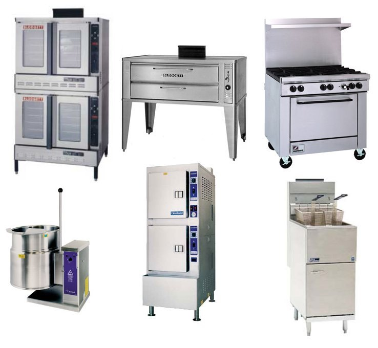 Used Commercial Kitchen Steamers