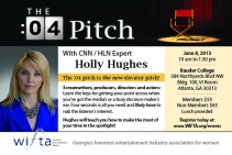 WIFTA Workshop Flyer: The :04 Pitch w/ CNN / HLN Legal Analyst Holly Hughes