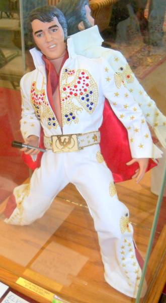 Elvis Presley limited edition doll