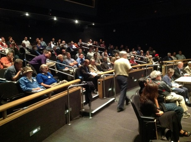 SRO for Starship Century symposium at UCSD's Arthur C. Clarke Center